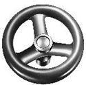 Picture for category Plastic Three Spoked Handwheels by ELESA®